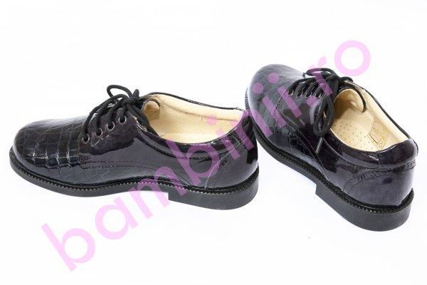 Pantofi copii leofex 103 blu lac 28-37