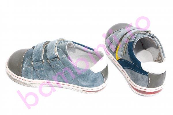 Pantofi copii sport leofex 126 gri 26-37