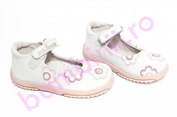 Pantofi copii melania 6 alb