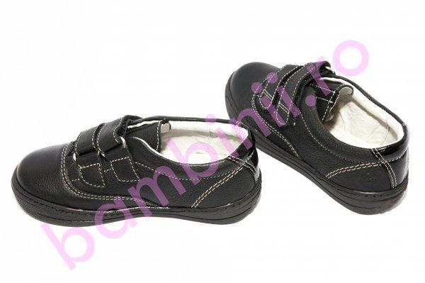 Pantofi copii piele hokide 339 negru 26-30