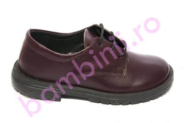 Pantofi copii pj shoes Denis bordo 31-38