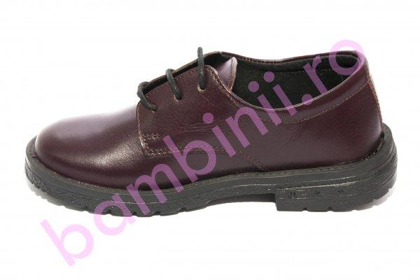 Pantofi copii pj shoes Denis bordo 31-38
