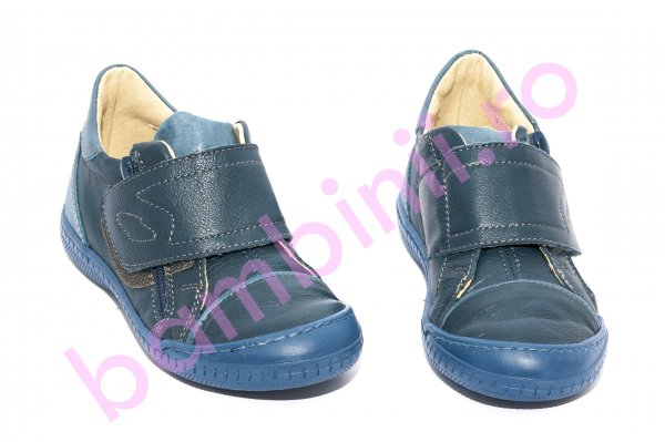 Pantofi copii pj shoes Goal albastru 27-37