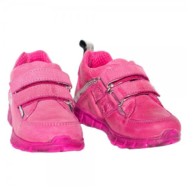 Pantofi copii pj shoes Salvatore fuxia 24-37