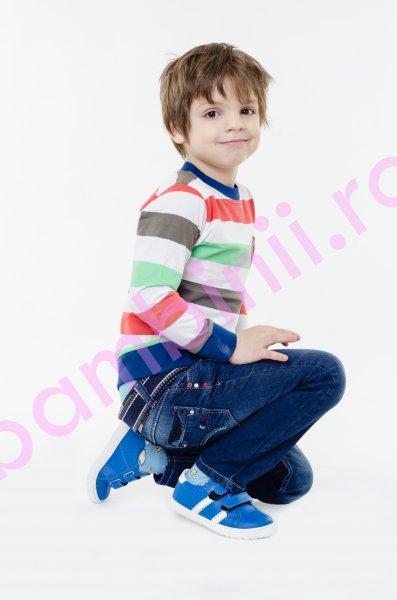 Pantofi copii pj shoes Skate albastru 24-36
