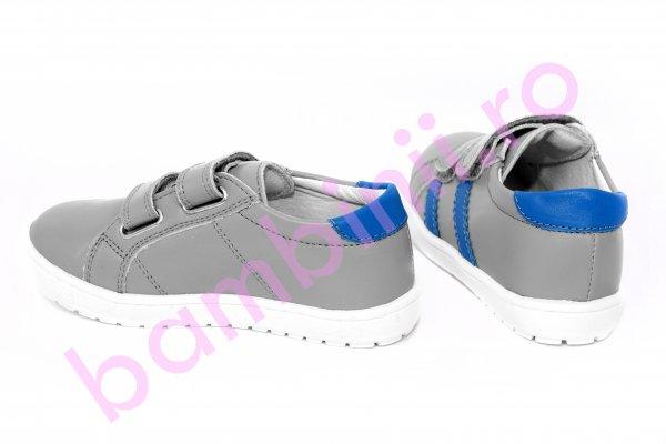Pantofi copii pj shoes Skate gri 24-36