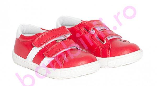 Pantofi copii pj shoes Skate rosu 27-37