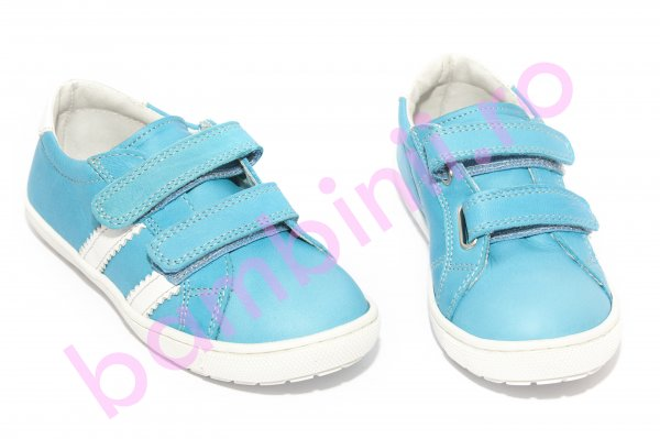 Pantofi copii pj shoes Skate turcoaz 27-37
