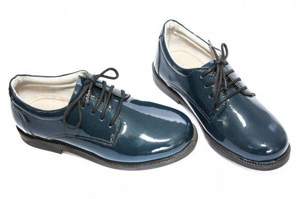 Pantofi copii scoala 102 blu lac 28-37