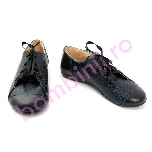 Pantofi copii scoala 533 albastru