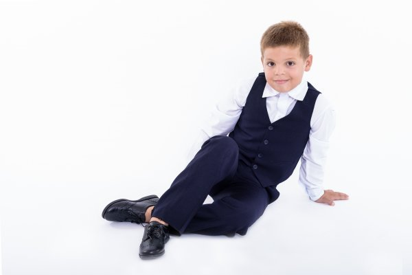 Pantofi copii scoala pj shoes Frigerio 01 negru 31-38