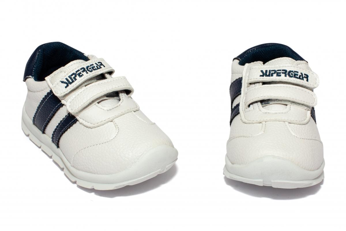 Pantofi copii sport 1606 alb 19-24