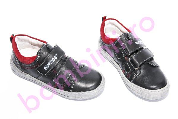 Pantofi copii sport 353 negru rosu 26-30