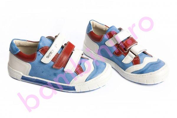 Pantofi copii sport 560 rosu albastru