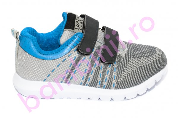 Pantofi copii sport 780 gri albastru 30-35