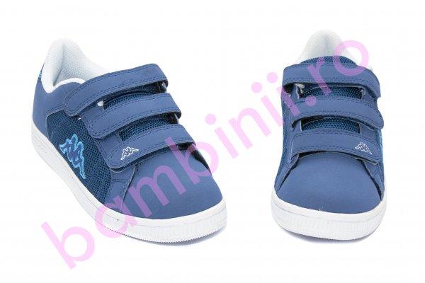 Pantofi copii sport Kappa 302 albastru 35-40