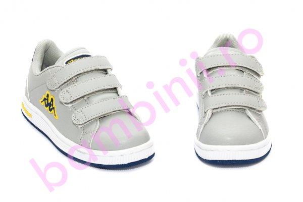 Pantofi copii sport Kappa 302 gri 27-34