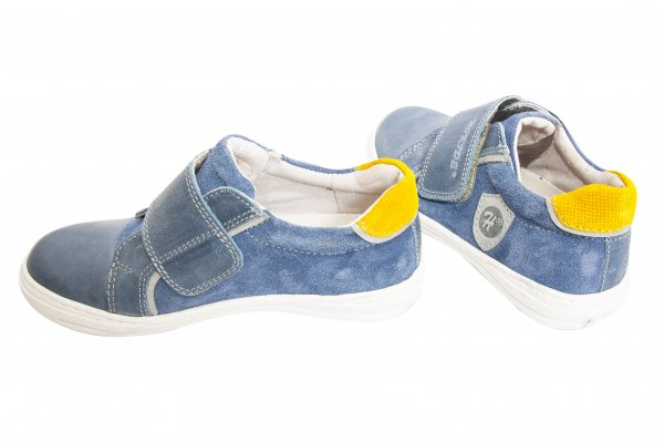 Pantofi copii sport hokide 352 albastru galben 26-36