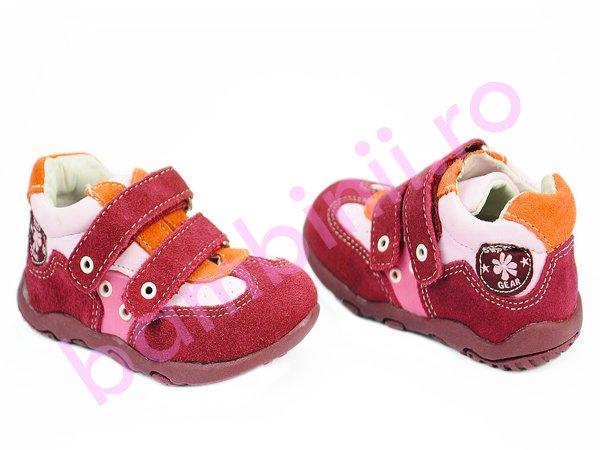Pantofi copii sport bordo 6042