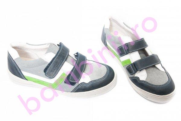 Pantofi copii sport hokide 297 albastru gri v 26-36