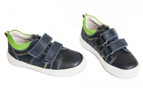 Pantofi copii sport hokide 297 blu verde 26-35