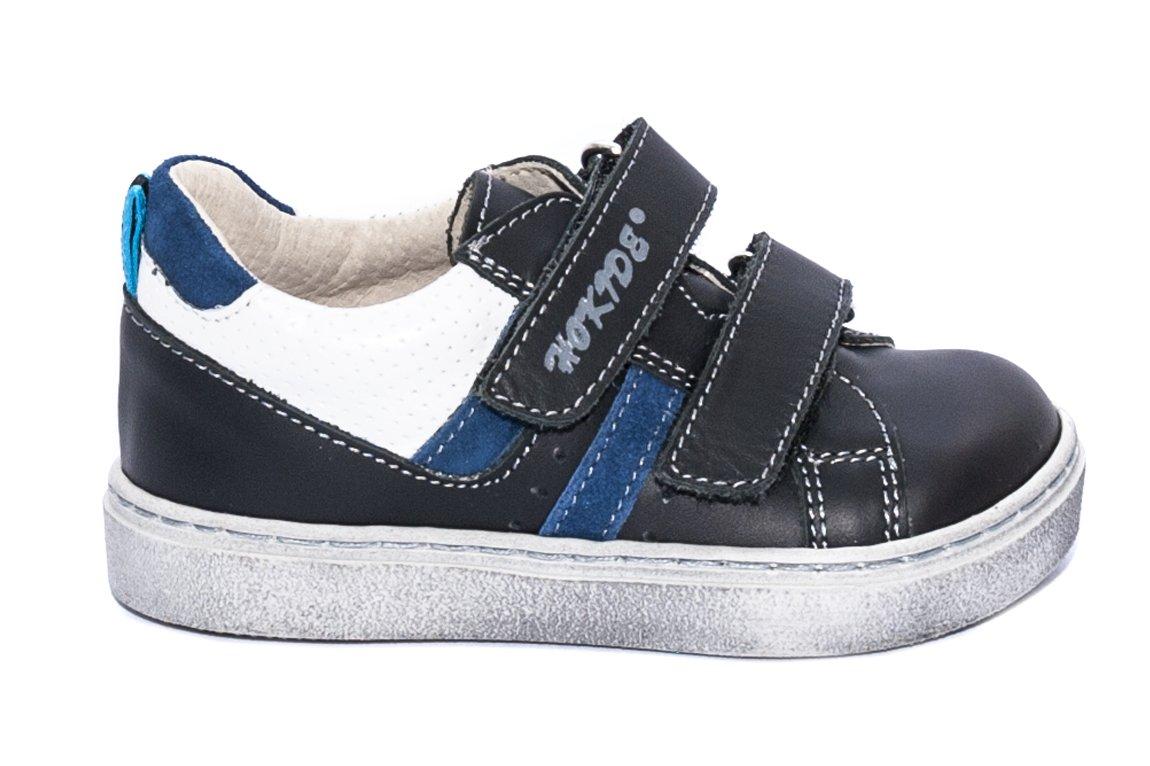 Pantofi copii sport hokide 316 negru alb 22-32