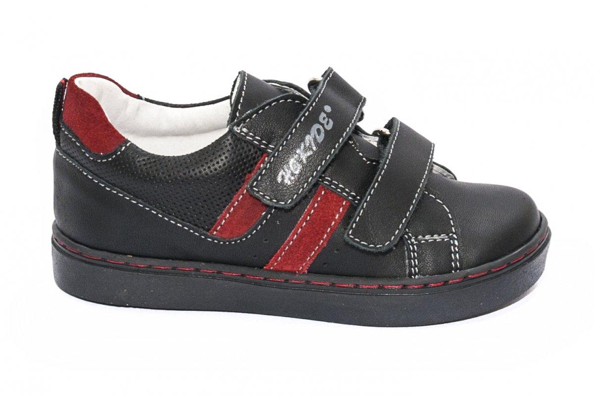Pantofi copii sport hokide 316 negru rosu 22-27