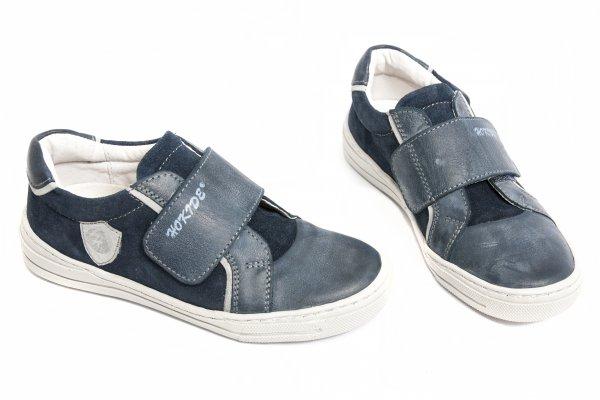 Pantofi copii sport hokide 352 albastru gri 26-36