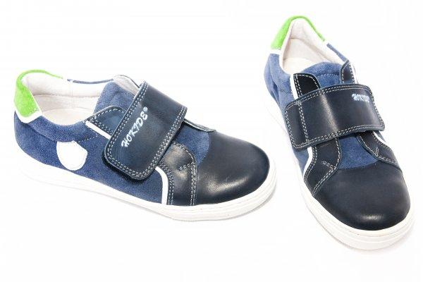 Pantofi copii sport hokide 352 albastru verde 26-36