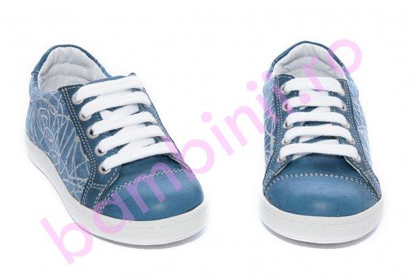 Pantofi copii sport hokide 387 albastru 26-36