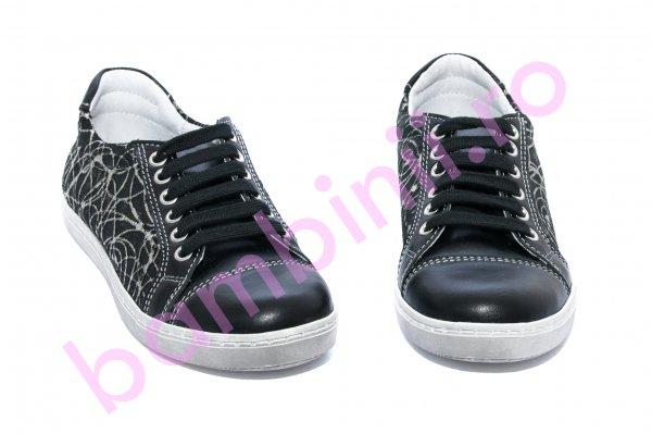Pantofi copii sport hokide 387 negru 26-36