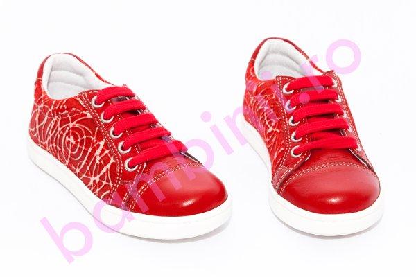 Pantofi copii sport hokide 387 rosu 26-36