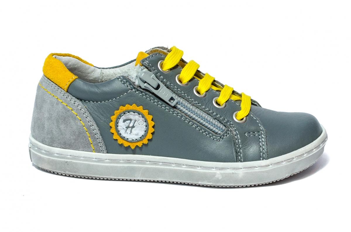 Pantofi copii sport hokide 400 gri galben 26-37