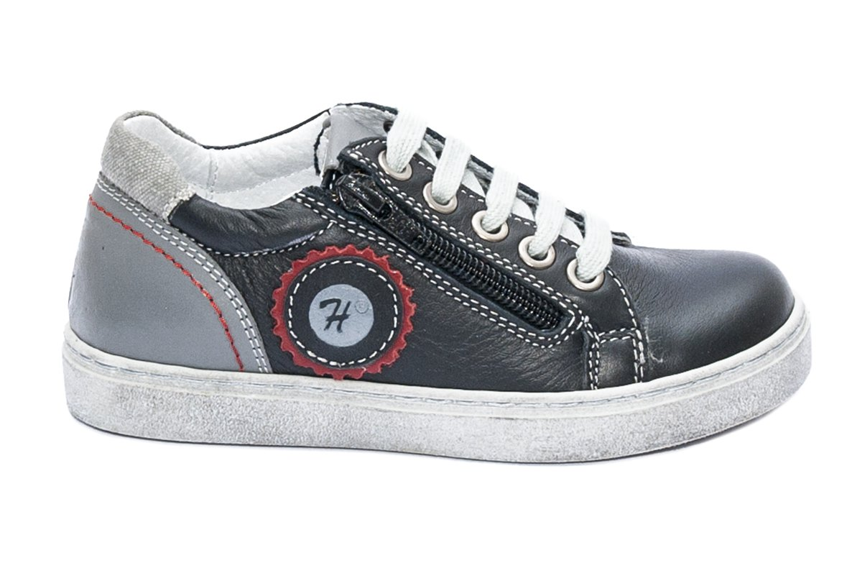 Pantofi copii sport hokide 400 negru gri 26-37