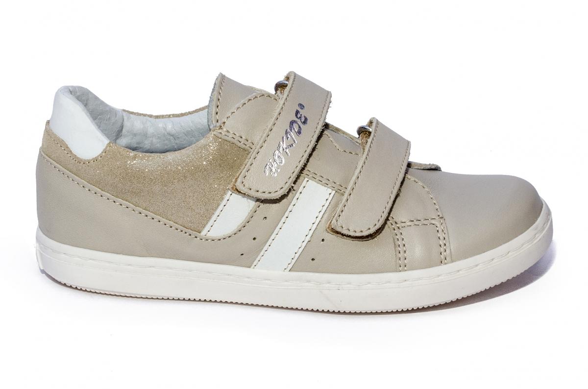 Pantofi copii sport hokide piele 316 bej 26-35