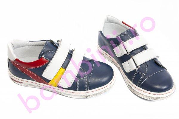 Pantofi copii sport leofex 126 albastru 19-25