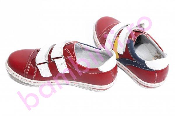 Pantofi copii sport leofex 126 rosu 26-37