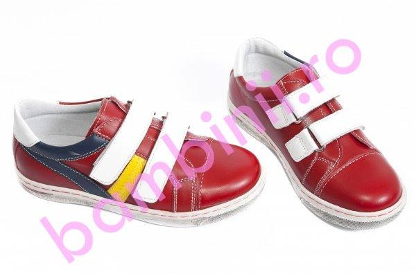 Pantofi copii sport leofex 126 rosu 19-25