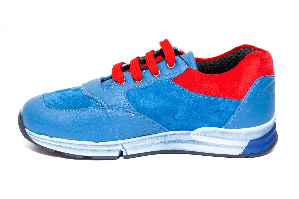Pantofi copii sport pj shoes Horia albastru rosu 27-37