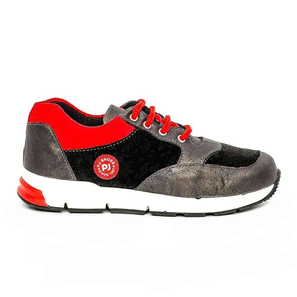 Pantofi sport copii pj shoes Horia albastru galben 27-37
