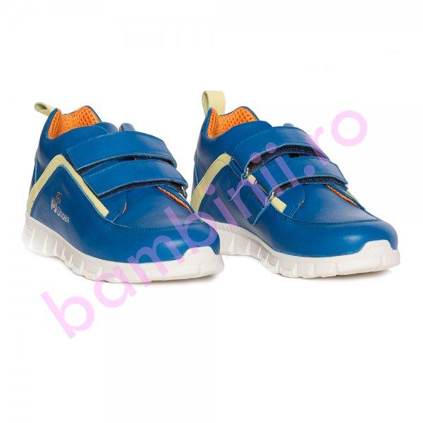 Pantofi copii sport pj shoes Salvatore albastru 27-36