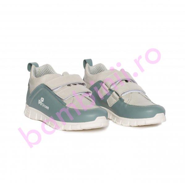 Pantofi copii sport pj shoes Salvatore gri 27-36