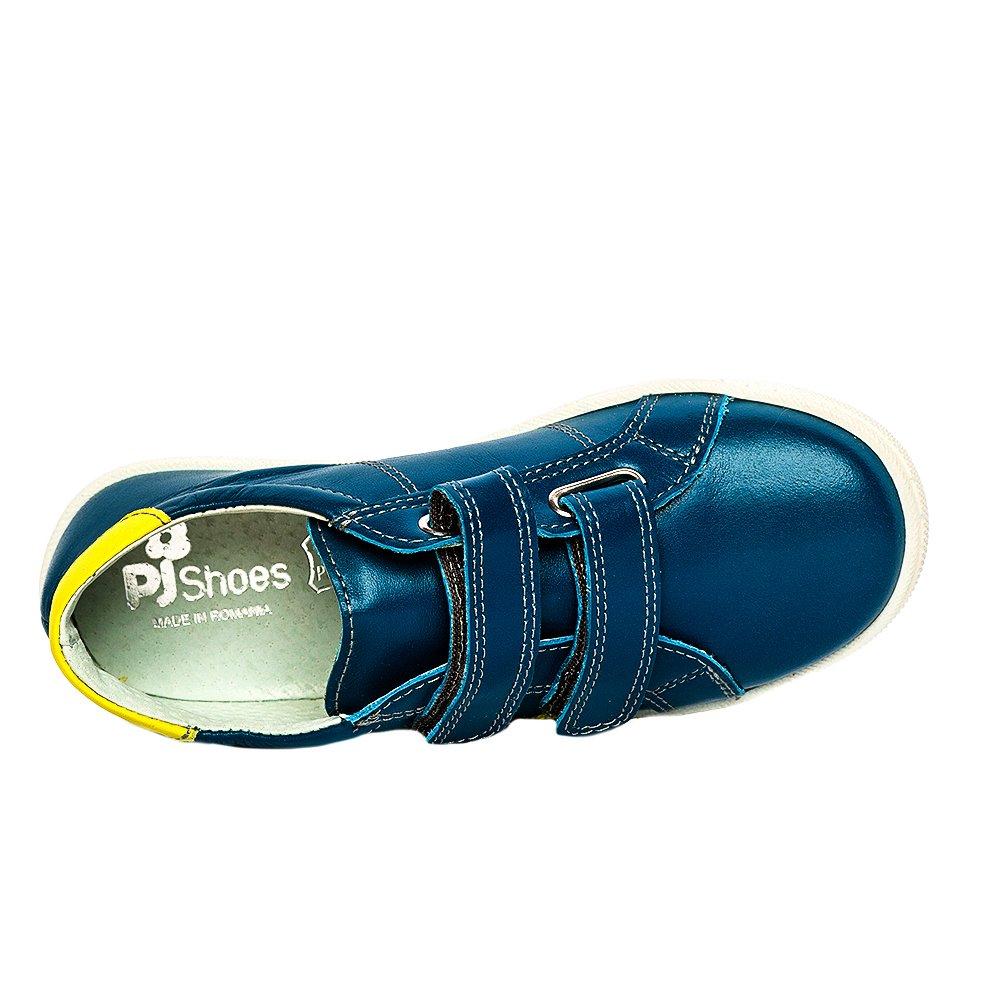 Pantofi copii sport pj shoes Skate blu galben 27-36