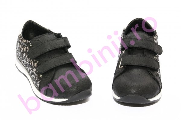 Pantofi copii sport pj shoes Skate negru gri 27-36