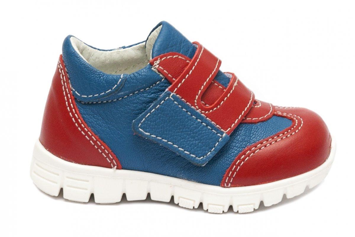 Pantofi copii sport pj shoes Tokyo albastru rosu 18-26