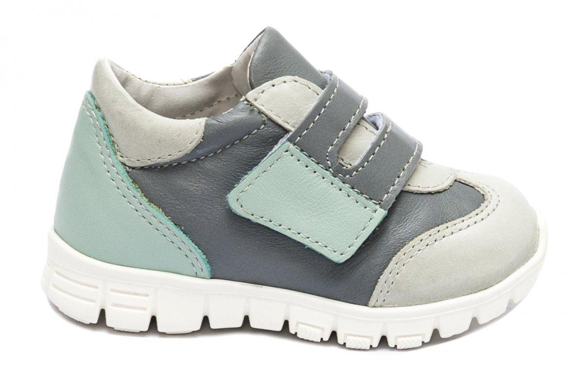 Pantofi copii sport pj shoes Tokyo vernil gri 18-26