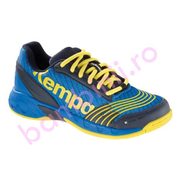 Pantofi copii sport sala Kempa Attack Jr 2017 albastru 28-39