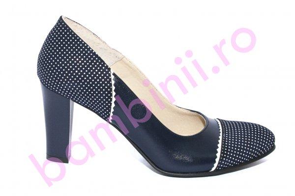 Pantofi cu toc dama 952b blumarin 34-40