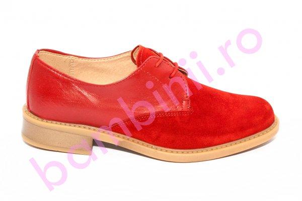 Pantofi dama On Spirit 5006 rosu 36-40