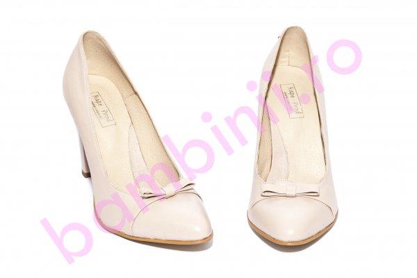 Pantofi dama cu toc 040.4 nud 34-40